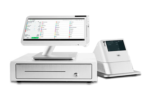 Clover Station - cash drawer and receipt printer